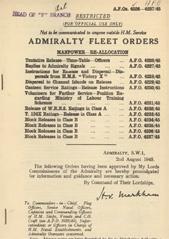 Admiralty Fleet Orders 1945 - 4226-4247