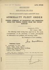 Admiralty Fleet Orders 1945 - 4670