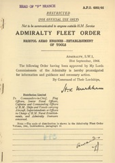 Admiralty Fleet Orders 1944 - 4985-2