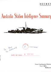 ASIS Serial No. 7 - November 1952