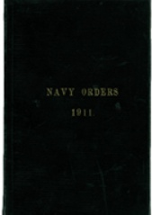 Cover image of the Commonwealth Naval Orders from 1911