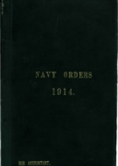 Cover image of the Commonwealth Naval Orders from 1914
