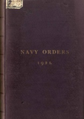 Cover image of the Commonwealth Naval Orders from 1921