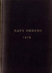 Cover image of the Commonwealth Naval Orders from 1923