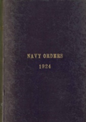 Cover image of the Commonwealth Naval Orders from 1924