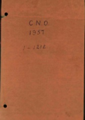 Cover image of the Commonwealth Naval Orders from 1957