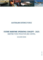 Future Maritime Operating Concept - 2025 cover image.