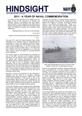 Hindsight Issue 1 - 2011 - A Year of Naval Commemoration.