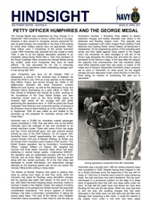 Hindsight Issue 3 - Petty Officer Humphries and the George Medal.