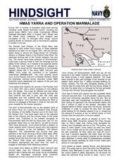 Hindsight Issue 7 - HMAS Yarra and Operation MARMALADE.