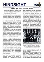 Hindsight Issue 8 - Krait and Operation JAYWICK.