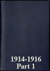 Naval Staff Monographs 1914-1916 part 1