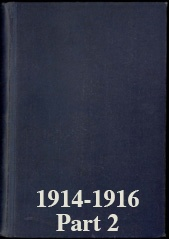 Naval Staff Monographs 1914-1916 part 2