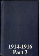 Naval Staff Monographs 1914-1916 part 3