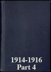 Naval Staff Monographs 1914-1916 part 4