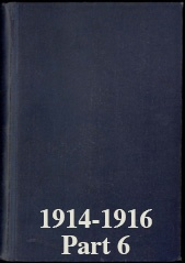 Naval Staff Monographs 1914-1916 part 6
