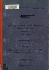 Naval Staff Monographs Vol II