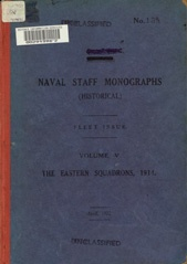 Naval Staff Monographs Vol V