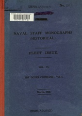 Naval Staff Monographs Vol VI