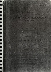 Naval Staff Monographs Vol XII