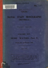 Naval Staff Monographs Vol XIV
