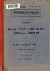 Naval Staff Monographs Vol XIX