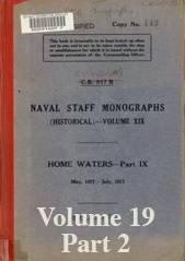 Naval Staff Monographs Vol XIX part 2