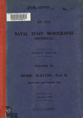 Naval Staff Monographs Vol XI