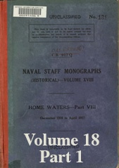 Naval Staff Monographs Vol XVIII part 1