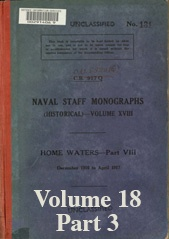 Naval Staff Monographs Vol XVIII part 3