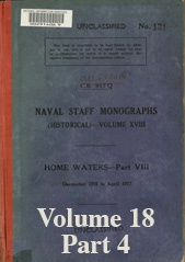 Naval Staff Monographs Vol XVIII part 4