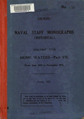 Naval Staff Monographs Vol XVII