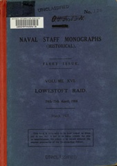 Naval Staff Monographs Vol XVI