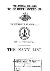 Navy List for January 1943