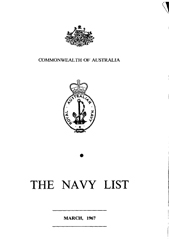 Navy List for March 1967