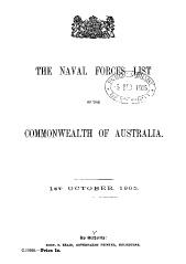 Navy List from October 1905