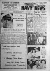 Navy News - 21 December 1960