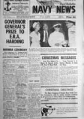 Navy News - 22 December 1961