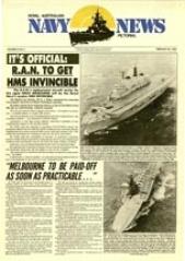 Navy News -  26 February 1982