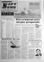 Navy News - 7 January 1972