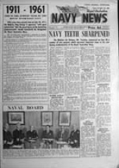 Navy News - 6 July 1961