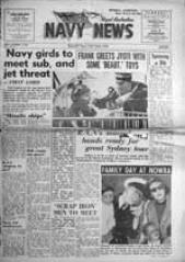 Navy News - 3 October 1958