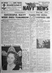 Navy News - 7 October 1960