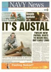 Navy News from 11 September 2003