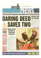 Navy News - 3 September 2001