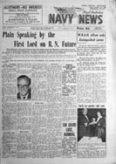 Navy News - 9 September 1960