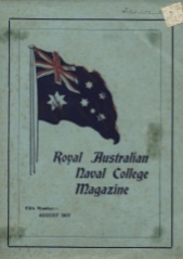 Royal Australian Naval College Magazine 1917 cover