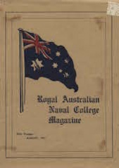 Royal Australian Naval College Magazine 1918 cover