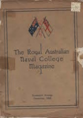 Royal Australian Naval College Magazine 1926 cover