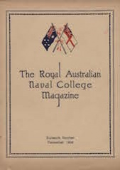 Royal Australian Naval College Magazine 1928 cover